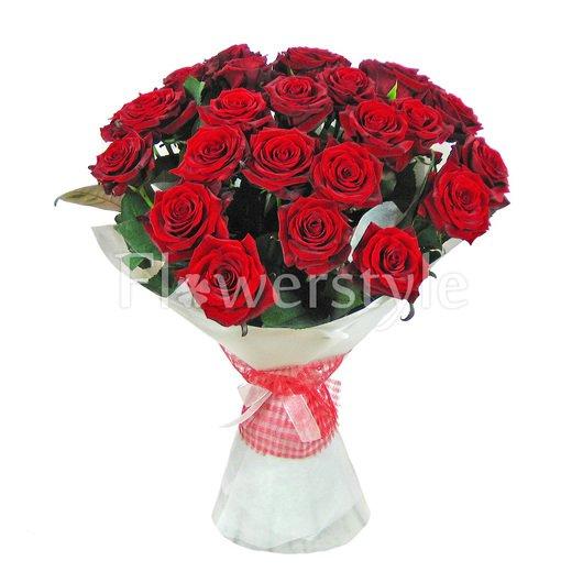 День влюбленных  (15, 25 или 51 роза)  дополнительные изображения