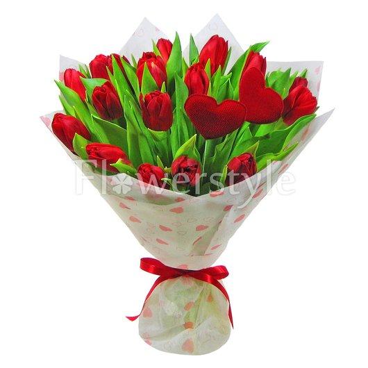 """Букет """"Яркие тюльпаны"""" дополнительные изображения"""