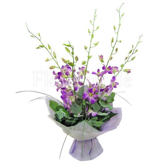 """Букет из орхидей """"Шелковый путь"""" дополнительные изображения"""