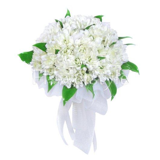 Букет цветов для невест № 35 дополнительные изображения