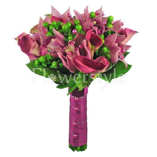 Букет цветов для невесты № 14 дополнительные изображения