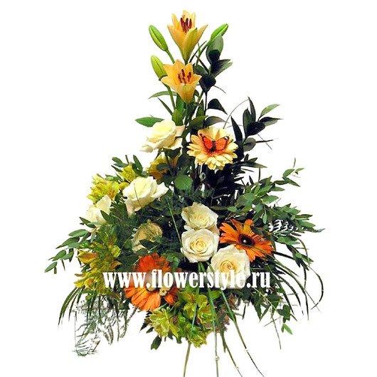 Композиция цветов № 33