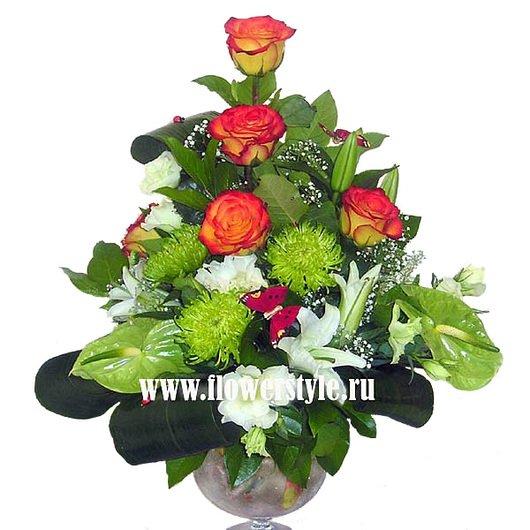 Композиция из цветов № 5