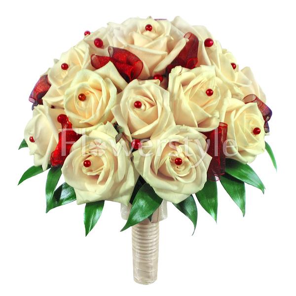 Букет цветов для невесты из роз № 48
