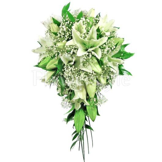 Букет цветов для невесты № 21 дополнительные изображения