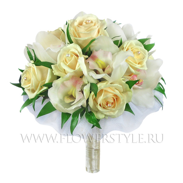 Букет цветов для невесты № 49