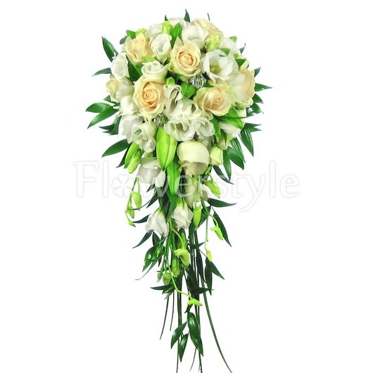 Свадебный букет для невесты № 118 дополнительные изображения