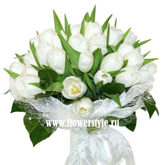 Букет цветов для невесты № 116 дополнительные изображения