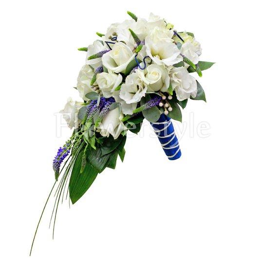 Букет невесты № 86 дополнительные изображения