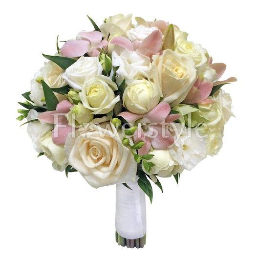 Свадебный букет из роз №139 дополнительные изображения