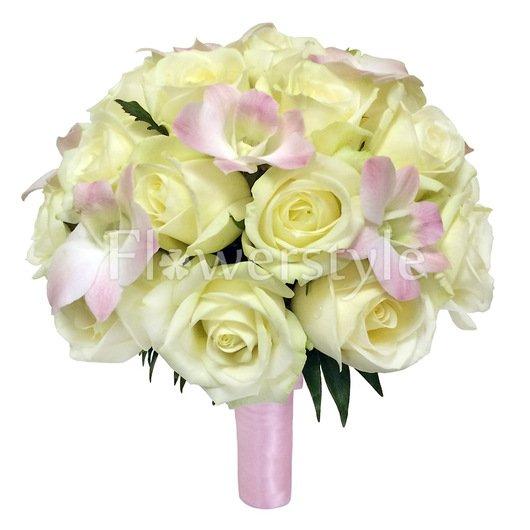 Букет невесты из роз №153 дополнительные изображения