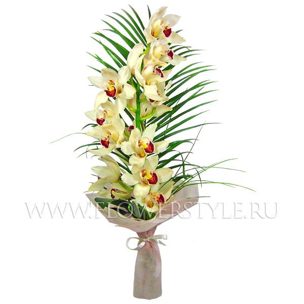 Купить букет орхидей с доставкой по Москве - FlowerStyle