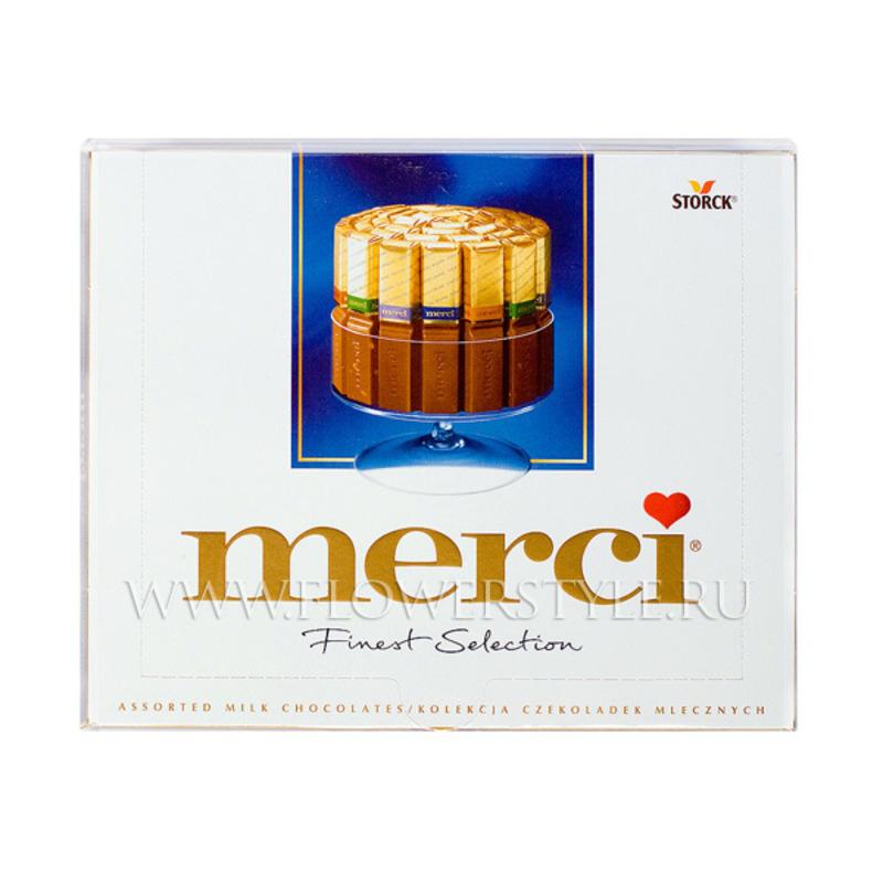 Шоколадные конфеты «Merci»