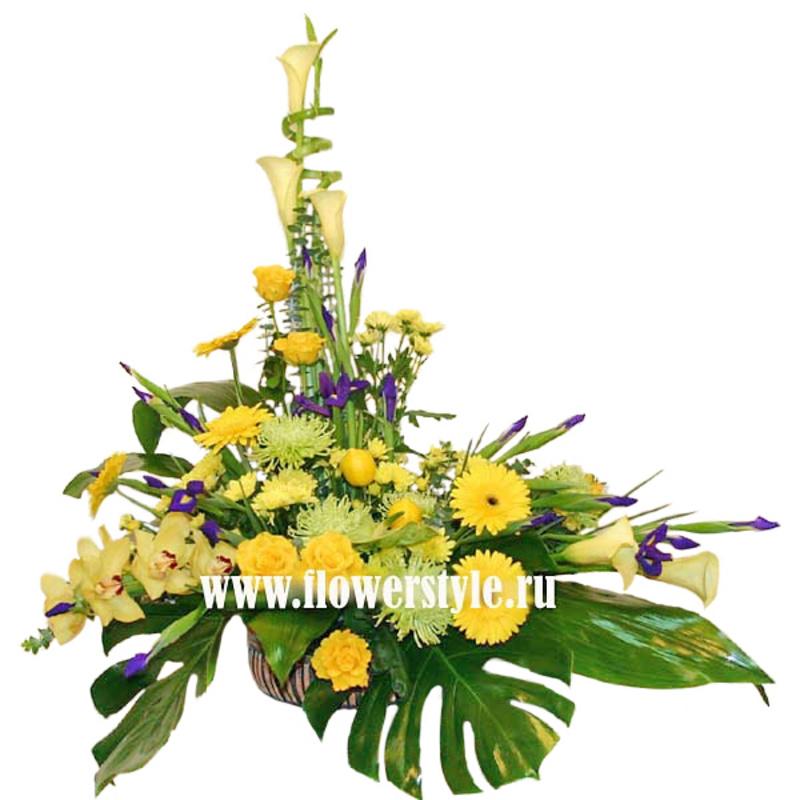 Композиция из цветов № 10
