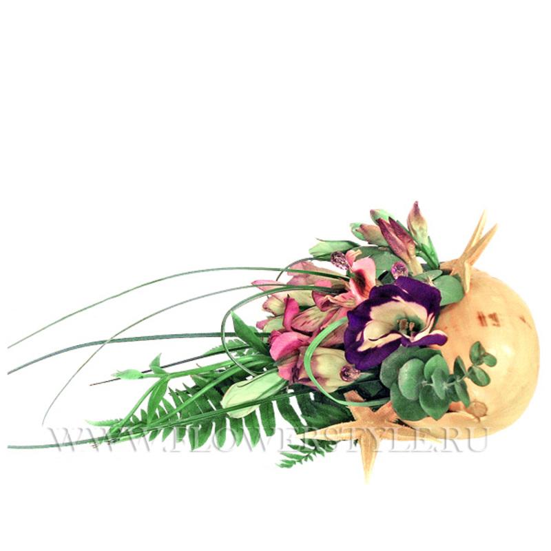 Композиция из цветов № 3 «Наутилус»