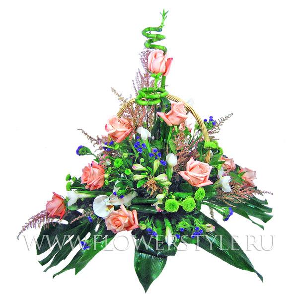 Подарочная корзина «Роза ветров»