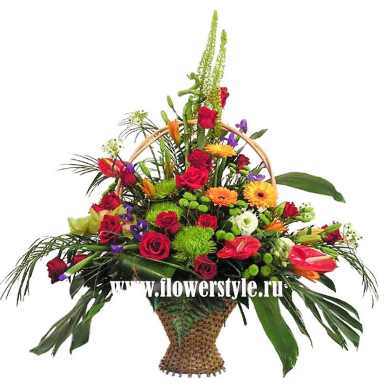 Подарочная корзина «Бархатный сезон»