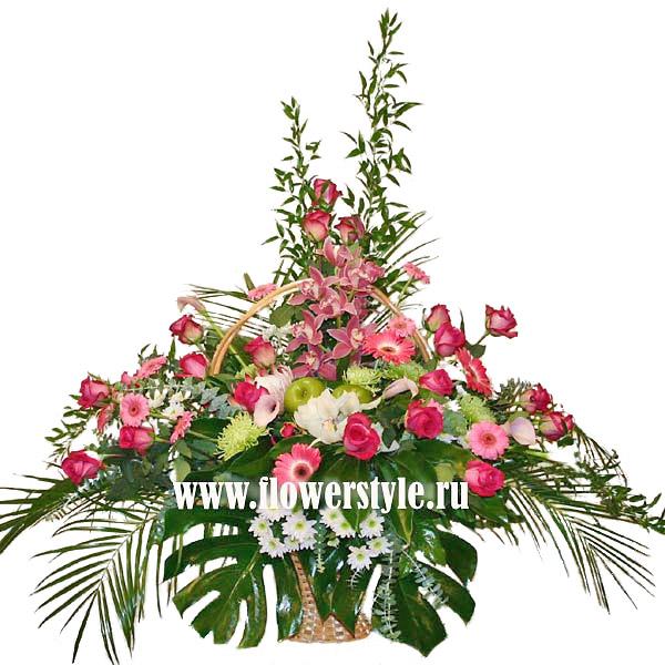 Подарочная корзина «Райский сад»