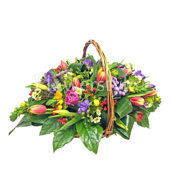 Подарочная корзина «Краски лета»