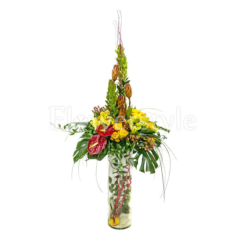 Композиция из цветов № 46