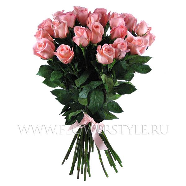 """Подарочный букет из 25 роз """"Приглашение"""""""