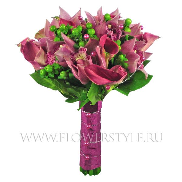Букет цветов для невесты № 14