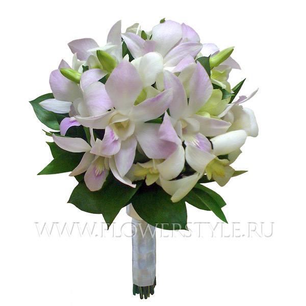 Букет невесты из орхидеи купить