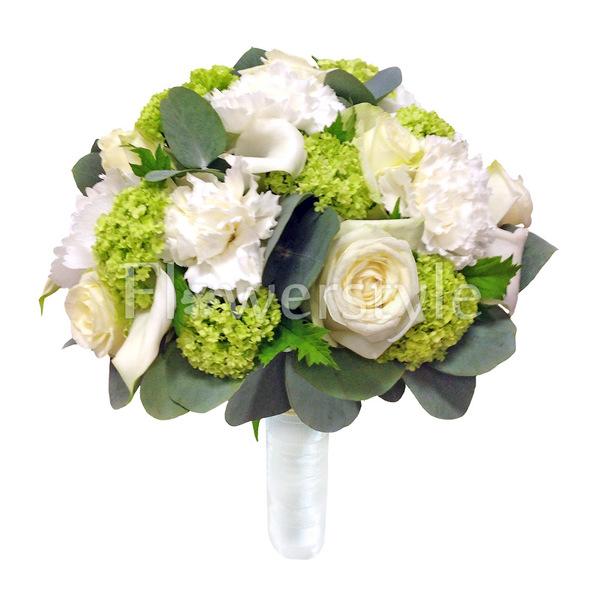 Свадебный букет из роз № 126
