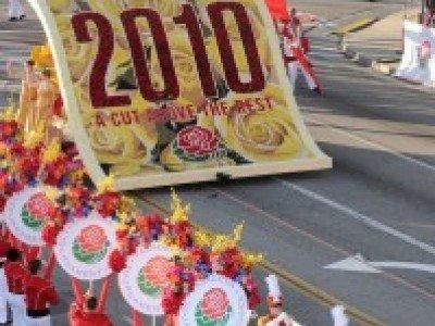 Фестиваль роз в Калифорнии