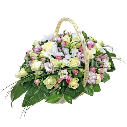 Подарочная корзина «Нежнее нежного» дополнительные изображения