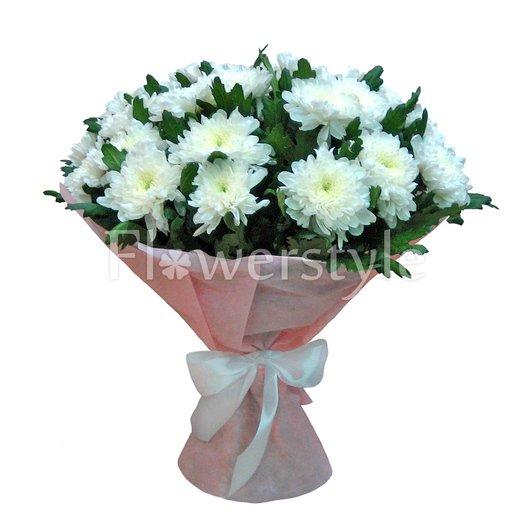 """Букет """"Белые хризантемы"""""""