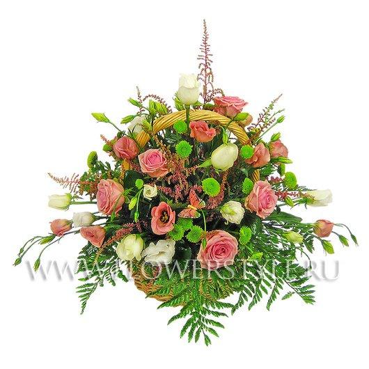 Подарочная корзина «Цветочная фантазия»