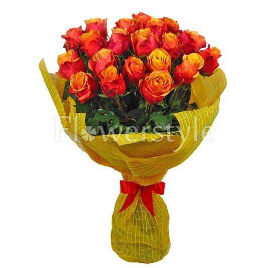"""Букет из 25, 51 или 71 розы """"Амаретто"""" дополнительные изображения"""