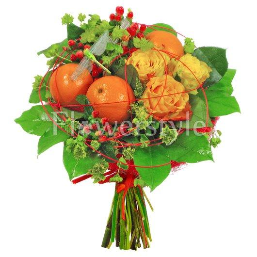 """Букет с фруктами """"Марокко"""" дополнительные изображения"""