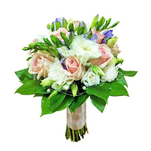 Букет невесты из роз № 11 дополнительные изображения