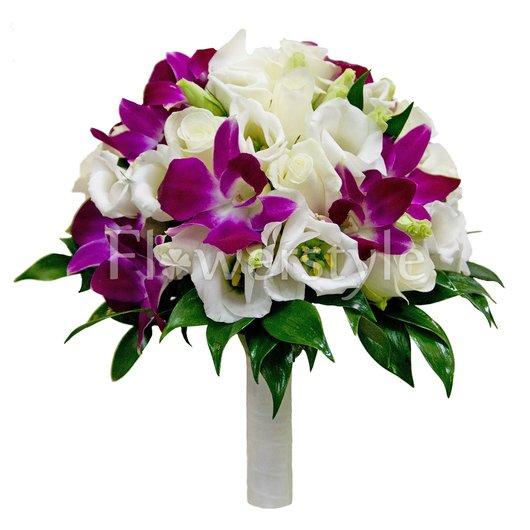 Букет невесты № 81 дополнительные изображения
