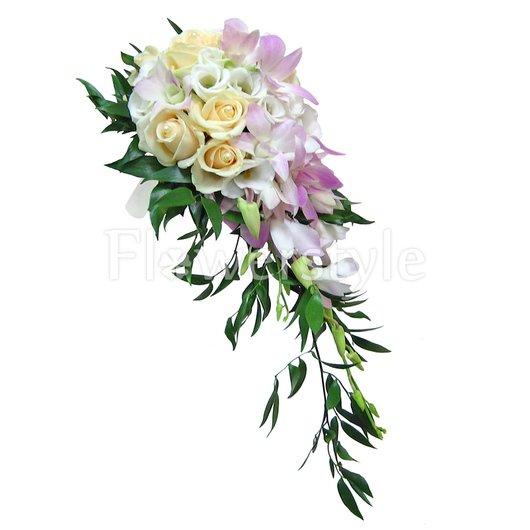 Букет невесты № 75 дополнительные изображения