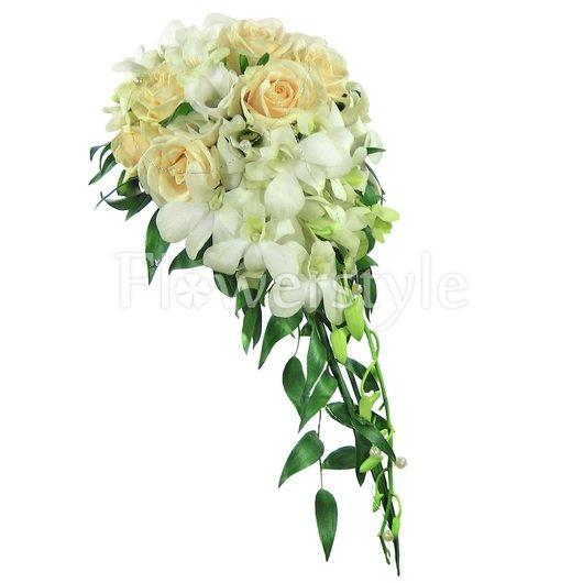 Букет невесты № 74 дополнительные изображения