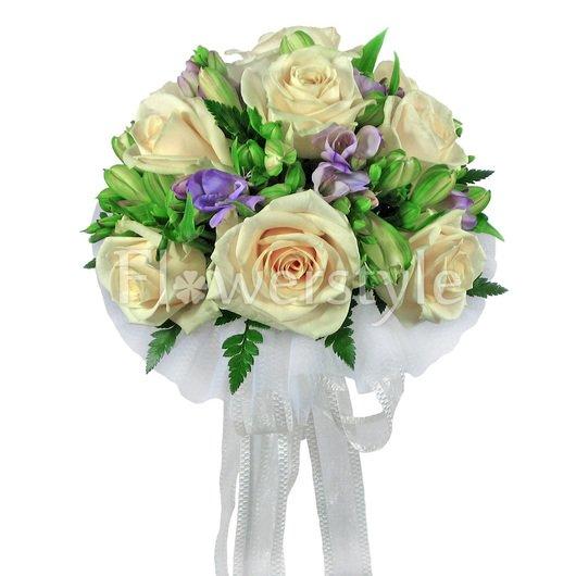 Букет цветов для невесты № 3 дополнительные изображения