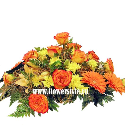 Композиция из цветов № 17