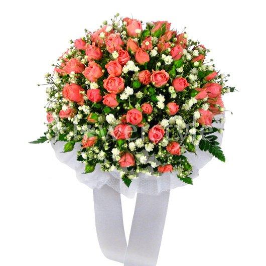 Букет цветов для невесты № 121 дополнительные изображения