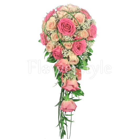 Букет невесты № 68 дополнительные изображения