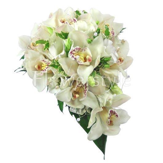 Букет цветов для невесты № 20 дополнительные изображения