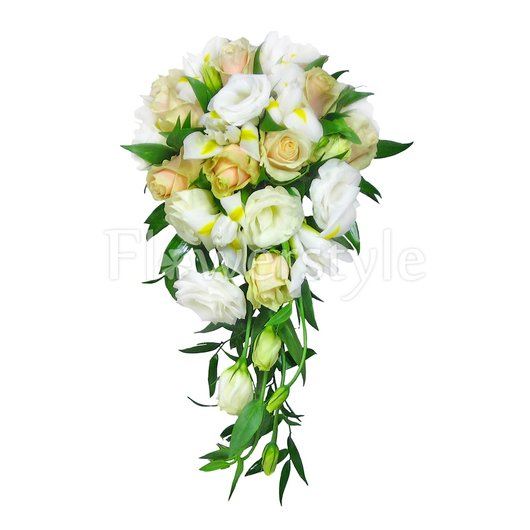 Букет цветов для невесты № 101 дополнительные изображения