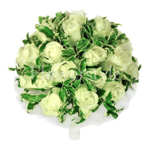 Букет цветов для невесты № 26 дополнительные изображения