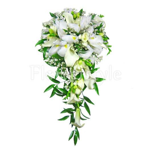 Букет невесты № 80 дополнительные изображения