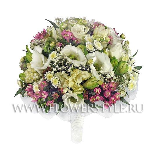 Букет цветов для невесты № 16 дополнительные изображения