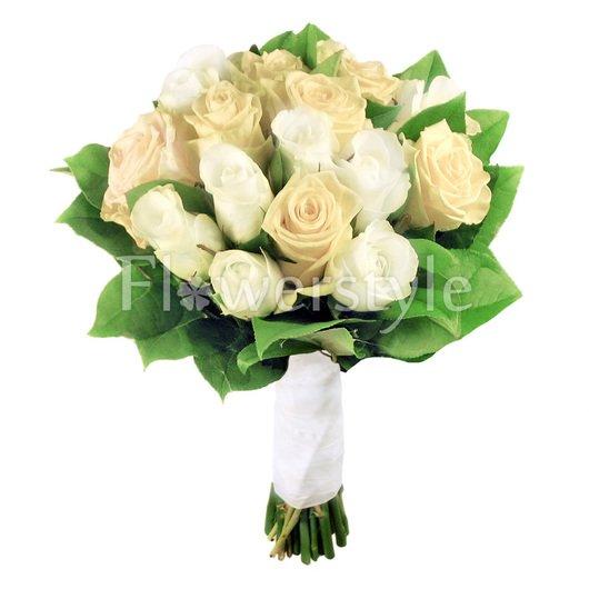 Свадебный букет цветов для невесты № 56