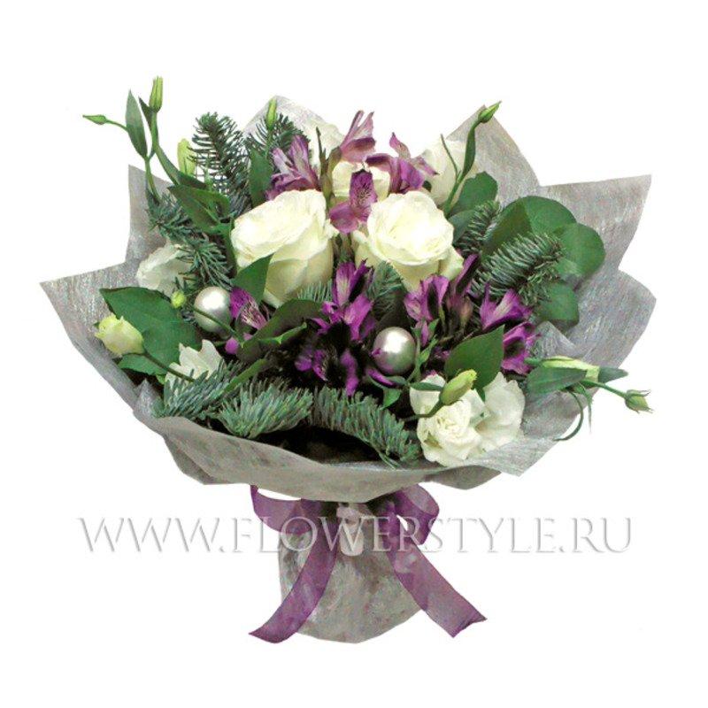 Новогодние цветы купить москва