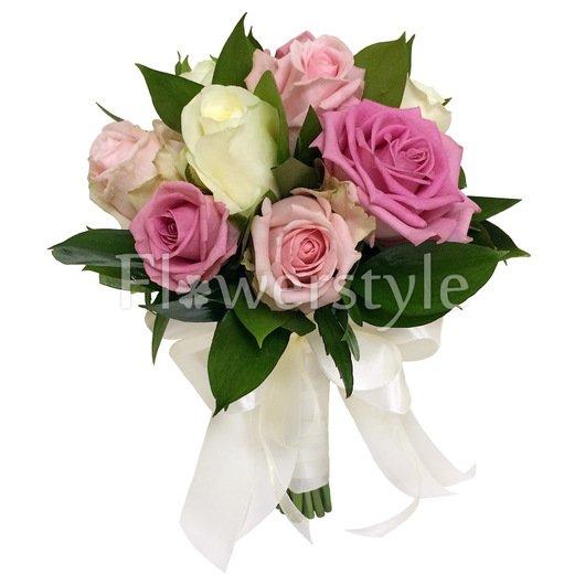 Букет для невест с розами №151 дополнительные изображения